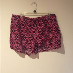 Aztec Shorts Comfortable cotton material with side-zipper closure! Shorts