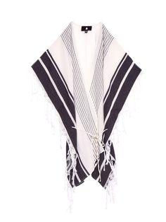 Kanacati self-tie fastening poncho    Su   MATCHESFASHION.COM UK