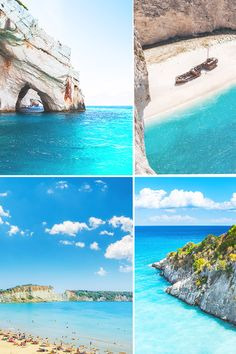 Zakynthos, is an island of wonders ✨ Visit as many beaches and sea caves as you can, because each one has its own thrill ❤ Makris Gialos Beach, Relaxing Holidays, Wine Festival, Beaches In The World, Once In A Lifetime, Beautiful Islands, Caves, Great Places, Natural Beauty