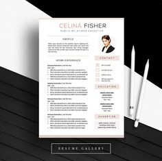 Creative Resume Template Cv Template Instant Download Editable