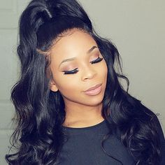Enjoy exclusive for Lace Front Body Wave Wig Human Hair Adjustable Strap 100 Brazilian Virgin Unprocessed Hair Pre Plucekd With Baby Hair 150 Density Bleached Knot Free Part Cheap Same Day Ship Grade 28 Inch online - Topbrandspremium Human Hair Lace Wigs, 100 Human Hair, Weave Hairstyles, Straight Hairstyles, Black Hairstyles, Prom Hairstyles, African Hairstyles, Ladies Hairstyles, Beautiful Hairstyles