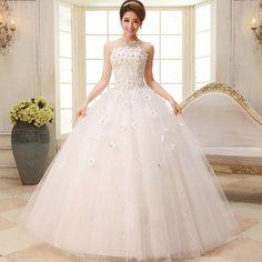 New White/ivory Lace Wedding Bridal Gown Dress Custom Size S M L Xl