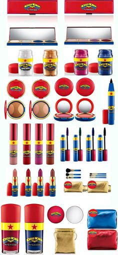 Everyday I pray that MAC will bring back the Wonder Woman make-up line!!!