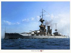 HMS Iron Duke, my grandfather served on her during Great War 1914-1918.