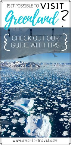Have you ever dreamed of traveling to Greenland? In spite of it seemingly being a remote location it can be done even with kids! Check out our ultimate guide for great travel insight and travel tips as to how it can be done and what to expect. Greenland Travel, Iceland Travel, Iceland Tour, Visit Greenland, Kulusuk Greenland, Things to do Iceland, Things to do Greenland, Europe Travel, Travel Destination, Travel Tips #greeland #greenlandtravel #bucketlisttravel #placestosee #travelinspo