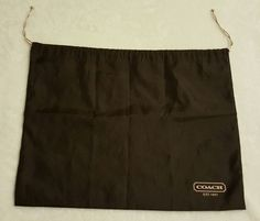 Coach Dust Bag Brown | Clothing, Shoes & Accessories, Women's Handbags & Bags, Handbag Accessories | eBay!