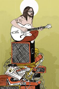 I love this illustration of John Frusciante