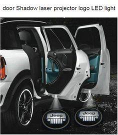 Jeep LED Door lights that shine logo!