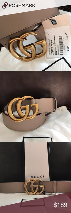 984501a2b51e New pink brass Gucci belt Athen.Gucci belt Made in Italy Comes with dust bag