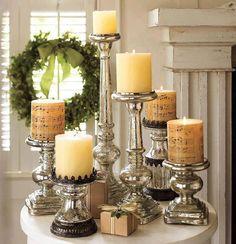 I love silver decoration..