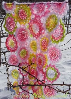 Japanese Flower Crochet Afghan Pattern : 1000+ images about Japanese flower on Pinterest Japanese ...