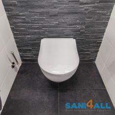 Compleet Toilet, toilet ideeën, toilet inspiratie, natuurlijke elementen, natuurstenen strips, fonteinset, interieur inspiratie Interior Design Inspiration, Bathroom, Decoration, Home, Bath, Full Bath, Bathing, Washroom, Decor