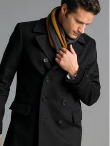 Like the Peacoat and Scarf combo