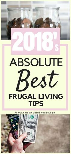 ROCK your #budget with 2018's absolute BEST frugal living tips. Get on track, save money and get rid of the debt forever #debtfree #frugalliving #personafinance #sidehustling #finances #frugallivingtips #money #moneytips #budget #budgeting #financialfreed