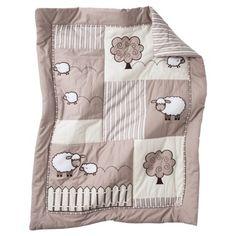 Sweet Jojo Designs 11pc Lamb Crib Set
