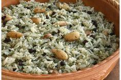 Bademli dereotlu pirinç pilavı