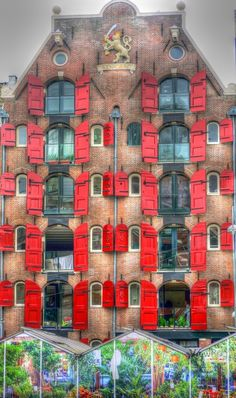 'Windows of Amsterdam' by jemmabrowning! Porch Windows, Old Windows, Windows And Doors, Beautiful Architecture, Beautiful Buildings, Architecture Design, Unusual Buildings, Interesting Buildings, Amsterdam Netherlands