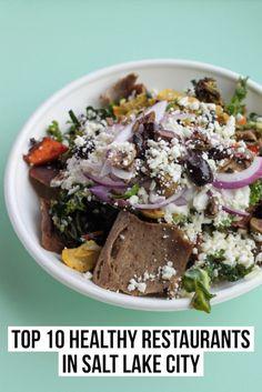 Top 10 Healthy Restaurants in Salt Lake City. Read the full post at femalefoodie.com!