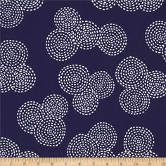 Michael Miller Stitch Floral - Discount Designer Fabric - Fabric.