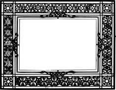 An old frame Printable Lables, Printable Frames, Printables, Antique Picture Frames, Old Frames, Frame Border Design, Frame Clipart, Frame Wreath, Diy Paper