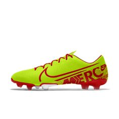 Nike Mercurial Vapor 13 Academy FG By You Custom Firm-Ground Football Boot Nike, Surgery, Football, Boots, Fashion, Soccer, Crotch Boots, Moda, Futbol