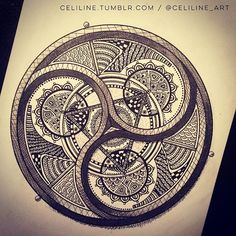 Just finished that one I started week ago !  #sacredgeometry