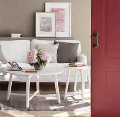 Before long, there comes the spring. We will redecorate the living rooms? Decor, Living Room, Furniture, Room, Dining Bench, Redecorating, Home Decor, Great Rooms, House Colors