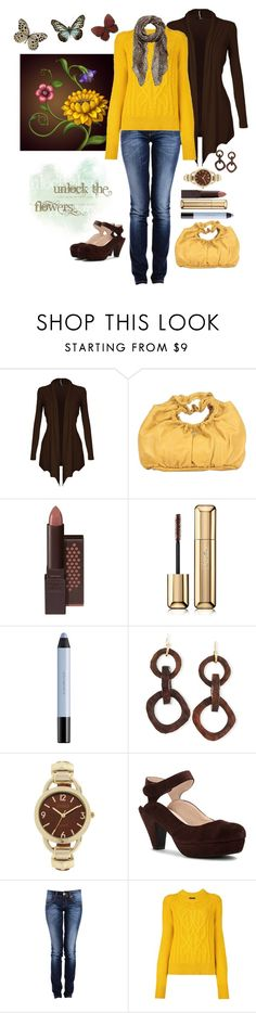 """Perfect Autumn Day"" by loves-elephants ❤ liked on Polyvore featuring Francesco Biasia, Burt's Bees, Guerlain, shu uemura, NEST Jewelry, Studio Time, Sacha, Isabel Marant and Forever New"