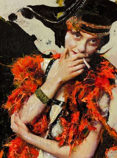 Lita Cabellut's Larger than Life-size Fresco Portraits   Hi-Fructose Magazine