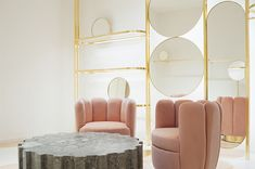 In/Out: India Mahdavi designs Red Valentino flagship, Rome