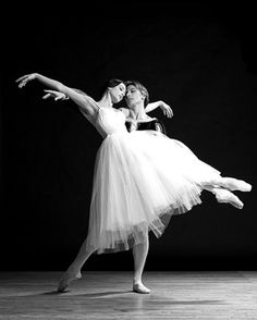 Irina and Max in Giselle.