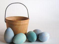 monochrome easter egg colors