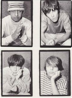 the stone roses Indie Music, Art Music, Music Artists, There Goes My Hero, Primal Scream, Stone Roses, Band Photography, Brown Aesthetic, Britpop