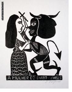 José Francisco Borges | Indigo Arts Satanic Art, Global Art, Gravure, Artist At Work, Printmaking, Folk Art, Contemporary Art, Art Gallery, Design Inspiration