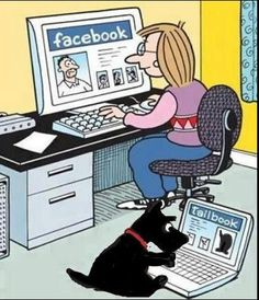 Frankly, I think tailbook (for dogs, not people) would be more interesting
