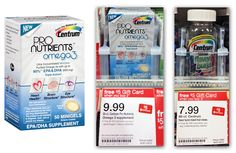 Save $7.50 on Centrum Pro Nutrients Supplements: $2.49 at Target!