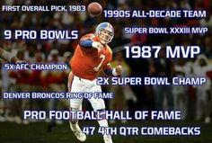 John Elway - Legend and now Neptune Brand Ambassador! Nfl Broncos, Denver Broncos Football, Best Football Team, Football Memes, Broncos Players, Football Stuff, Terrell Davis, John Elway, Football Hall Of Fame