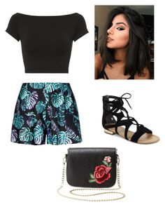 """""""Untitled #16"""" by sanzianamaria-cusa on Polyvore featuring Helmut Lang, Saks Fifth Avenue and Charlotte Russe"""