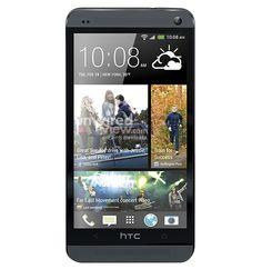 Imagine noua cu HTC One / M7, versiunea pe negru