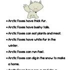 Great Arctic Animals whole group activity or center!  Included are eight easy to read fact sheets about: The Arctic, Arctic Foxes, Polar Bears, Sea...