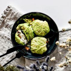 Veggie Recipes, Healthy Recipes, Veggie Food, Healthy Food, Plat Vegan, Lettuce, Detox, Cabbage, Food And Drink
