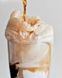 Bring on the fizzy frenzy! We LOVE this Root Beer Float recipe. Oh! Don't forget the homemade fudge.