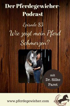 Pferde haben ja bekanntlich keine Schmerzenslaute. Dadurch kann es manchmal schwierig sein, zu erkennen, wann ein Pferd unter Schmerzen leidet. Gerade chronische Schmerzen sind oft nur an minimalen Veränderungen in der Mimik des Pferdes zu erkennen. Woran genau man Schmerzen beim Pferd erkennt erklärt Tierärztin Dr. Silke Paret in Episode 83 unseres Pferdepodcasts. #schmerzenbeimpferd #gesundespferd #krankespferd #pferdeverhalten #pferdegewieher #podcastpferd Movie Posters, Horse Feed, Chronic Pain, Facial Expressions, Vet Office, Round Round, Film Poster, Billboard, Film Posters