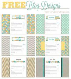 Free Blogger Blog Backgrounds - Leelou Blogs