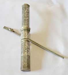 beautiful korean ladys dagger with exquisite engraving amazoncom oriental furniture korean antique style liquor