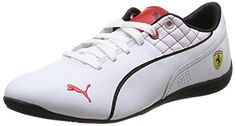 Puma Drift Cat 6 SF Flash, Unisex-Erwachsene Sneakers, Weiß (white-rosso corsa 03), 40.5 EU (7 Erwachsene UK) - http://on-line-kaufen.de/puma/40-5-eu-puma-drift-cat-6-sf-flash-unisex-erwachsene-2