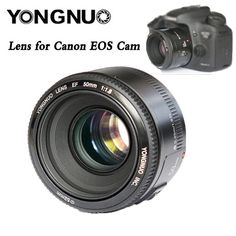 59.99$  Watch here - http://aliu5v.worldwells.pw/go.php?t=32698305759 - Free shipping!YONGNUO YN50MM F1.8 Large Aperture Auto Focus Lens For Canon EF Mount EOS Camera