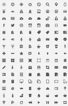Gemicon – free icon set