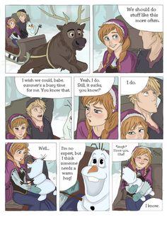 SCORCHED (Frozen graphic novel) part 1