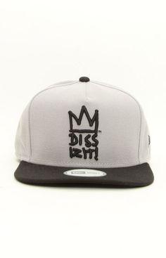 Dissizit!, JB NE Snap-Back Hat - Grey
